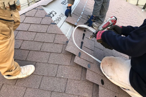 屋根葺き替えは屋根工事の中では高額・工期も長めになります
