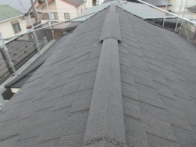 セネター屋根カバー棟板金