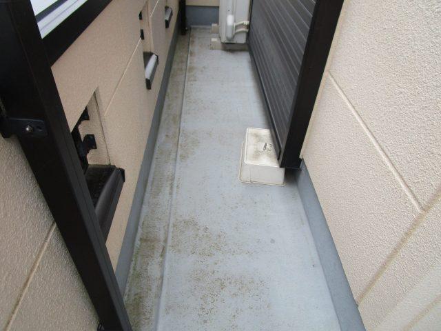 所沢市 短時間で耐久性の高い防水塗膜ができる ベランダ防水工事