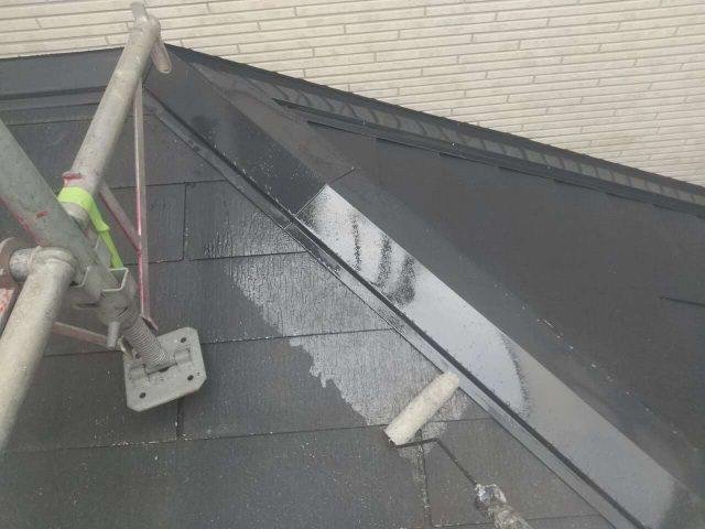 下屋根塗装下屋根