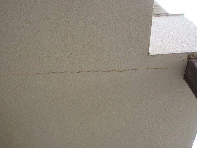 既存外壁塗装クラック