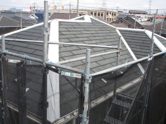 入間市 リフォーム 屋根 軽量で品質保証30年の地震に強い屋根材FSストーンでカバー工事