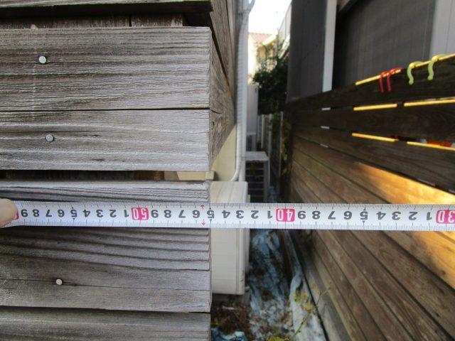 所沢市若狭 屋根・外壁塗装 ベランダ工事 現地調査 (28)
