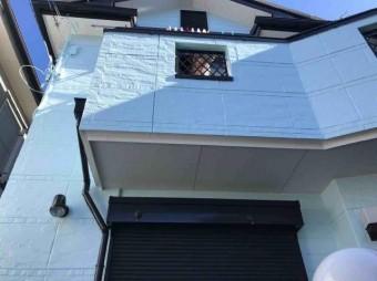 変換 ~ 入間市 屋根カバー 外壁塗装 施工後 (2)
