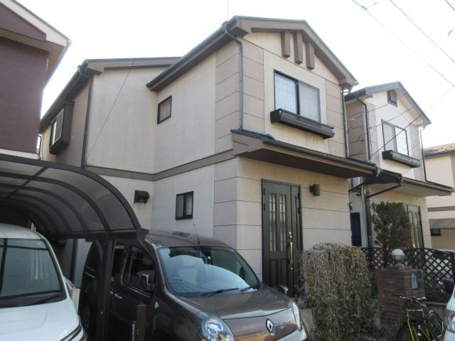 変換 ~ 飯能市 屋根カバー工事 外壁塗装工事 施工前 (1)