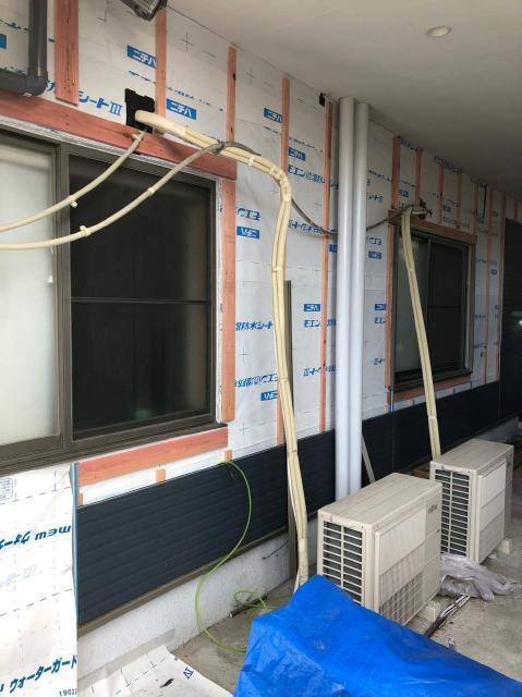 変換 ~ 所沢市 屋根葺き替え サイディング工事 サイディング施工 (5)