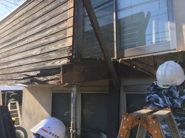 所沢市若狭 屋根・外壁塗装 ベランダ解体工事 (6)