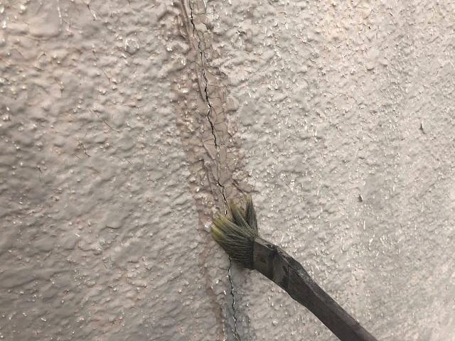 所沢市松郷 外壁塗装 プライマー塗布