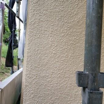 東京都東大和市 屋根葺き替え、外壁塗装工事 無機塗料による外壁塗装4