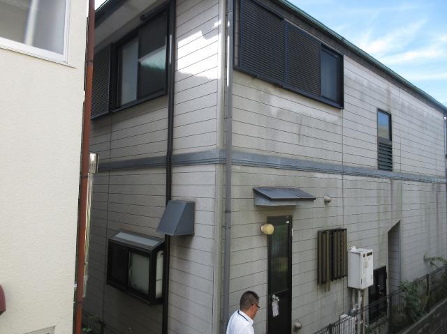 変換 ~ 入間市 屋根カバー 外壁塗装 現地調査 (5)