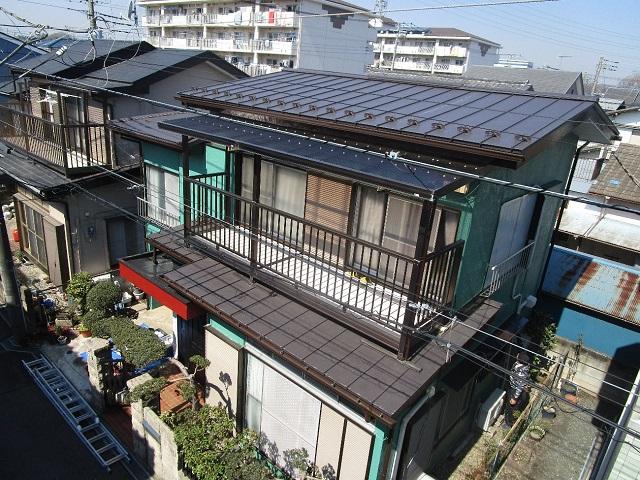 所沢市 松郷 屋根葺き替え、外壁塗装工事 施工後
