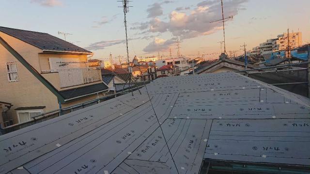 変換 ~ 入間市 屋根カバー 外壁塗装 屋根カバー工事 (4)
