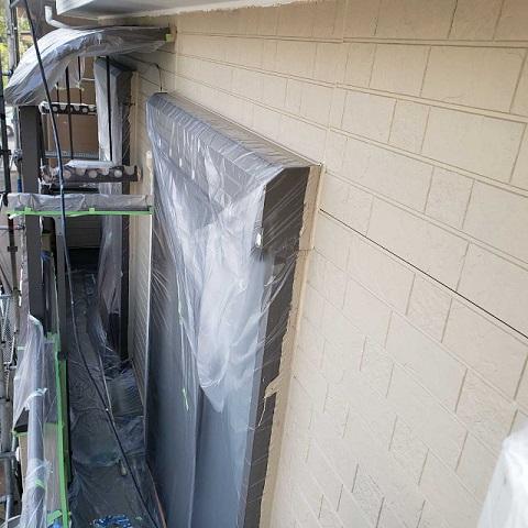 所沢市和ケ原 屋根カバー、天窓撤去、外壁塗装工事 外壁塗装3