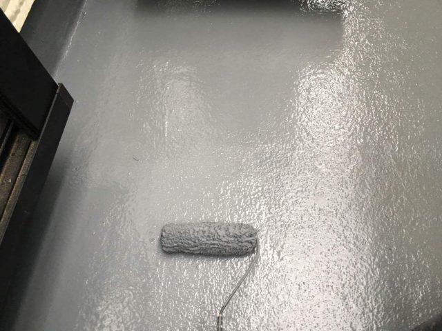 所沢市東所沢 屋根カバー、外壁塗装工事 ベランダ防水工事 (9)