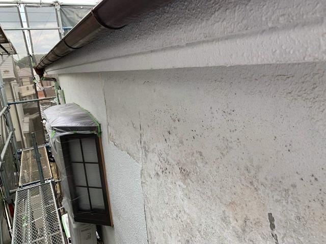 東京都 武蔵村山市 外壁塗装 経年劣化による塗膜剥離2
