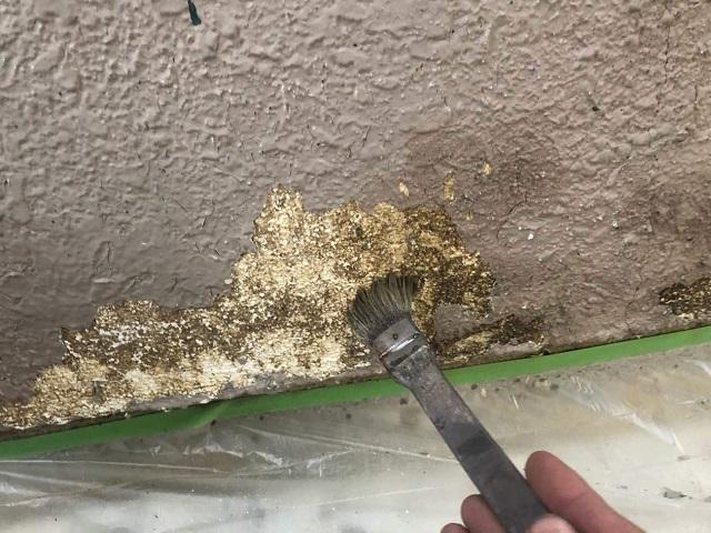 シーラーによる外壁補修