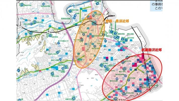 入間地域 台風・洪水ハザードマップ