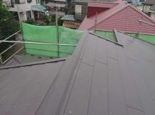 所沢市若狭 屋根カバー・葺き替え工事 施工後