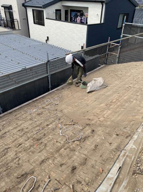 変換 ~ 所沢市 屋根葺き替え サイディング工事 オークリッジ施工 (4)