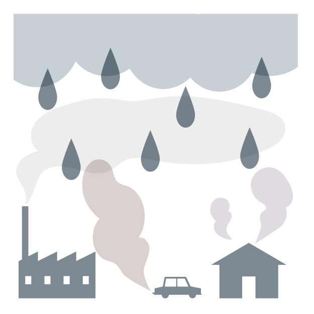 外壁 劣化 ph値 カビや藻の発生原因 酸性雨