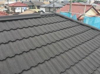 屋根カバーセネター 施工後