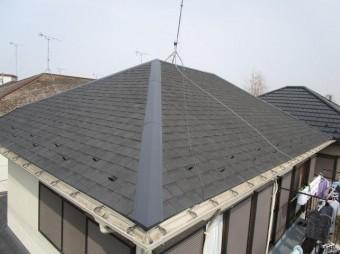 屋根完成全体写真
