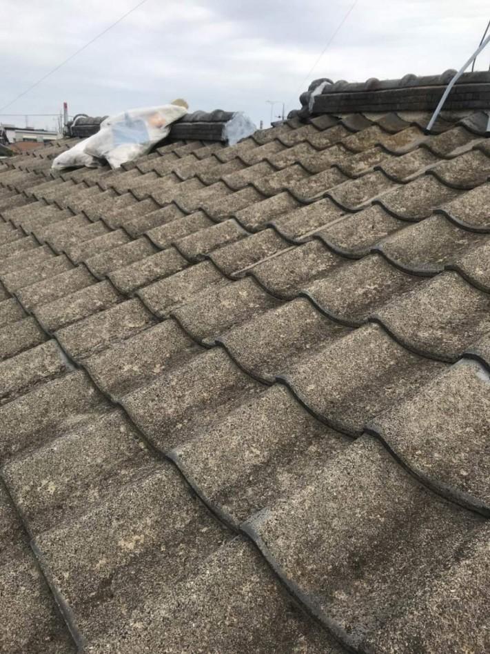 築30年セメント屋根材