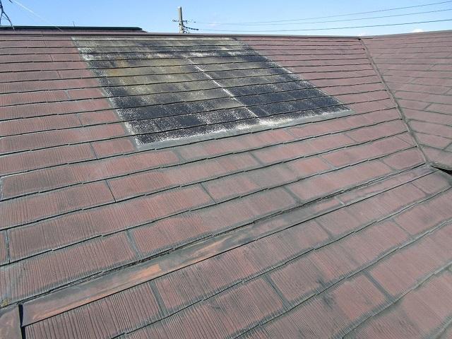既存屋根 スレート