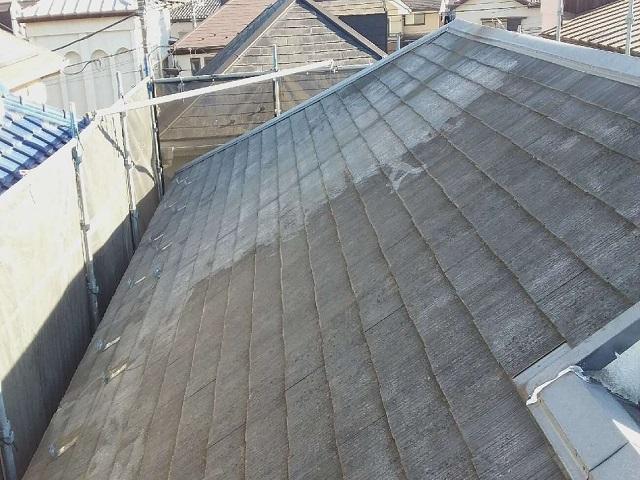 既存屋根スレート