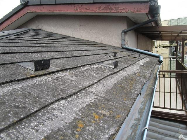 スレート屋根既存