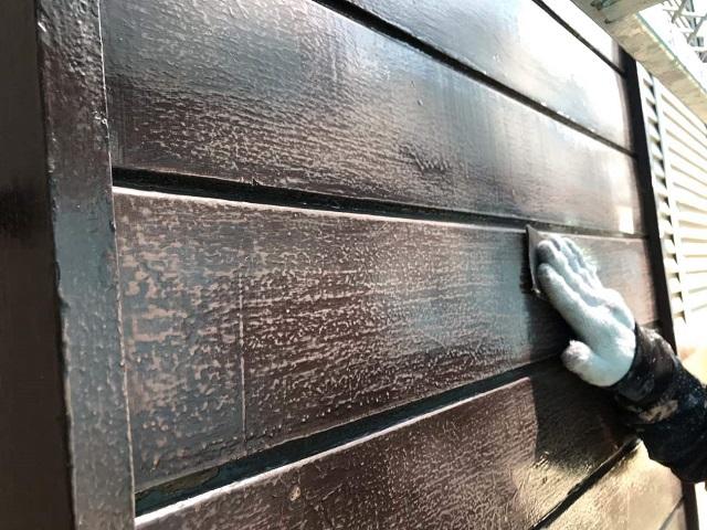 狭山市笹井 屋根カバー工事、外壁塗装工事 戸袋ケレン