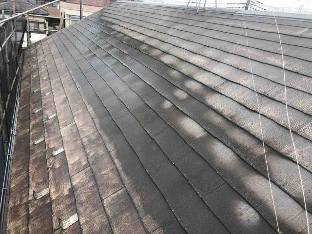 所沢市 東所沢 屋根 外壁塗装 高圧洗浄作業 (2)