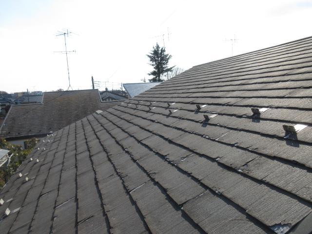 変換 ~ 飯能市 屋根カバー工事 外壁塗装工事 施工前 (2)