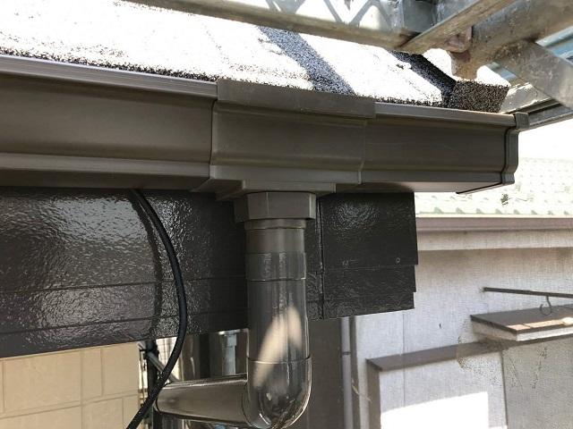 所沢市和ケ原 屋根カバー、天窓撤去、外壁塗装工事 雨樋交換6