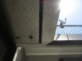 所沢市 東所沢 屋根塗装、外壁塗装 現地調査 軒天