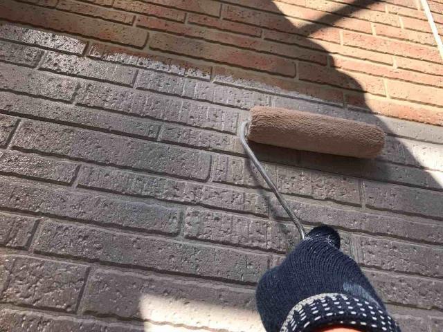 変換 ~ 入間市 屋根カバー 外壁塗装工事 ガイソーウォールタフネスシリコンⅡ施工 (2)