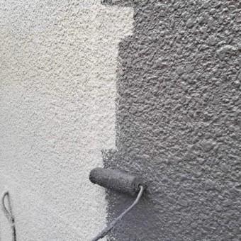 所沢市東所沢 外壁塗装作業 (5)