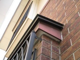 狭山市広瀬 屋根・外壁塗装 ベランダ防水 現地調査 付帯部の劣化