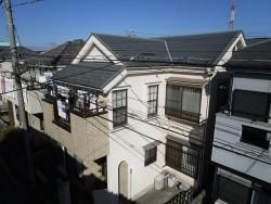 入間市東藤沢 屋根カバー工事 外壁塗装 施工前