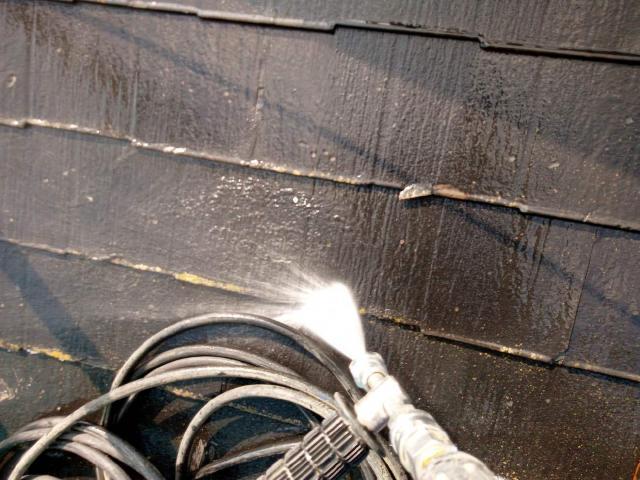 変換 ~ 飯能市 屋根カバー工事 外壁塗装工事 洗浄作業 (2)