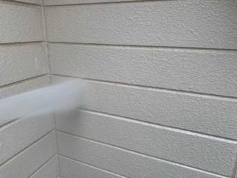 狭山市広瀬台 屋根・外壁塗装 高圧洗浄作業 (6)