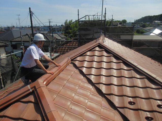 東京都東大和市 屋根葺き替え、外壁塗装工事 施工事例 ルーガ (3)