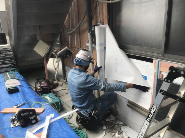 変換 ~ 所沢市 屋根葺き替え サイディング工事 サイディング施工 (14)