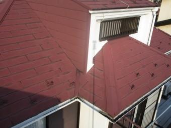 所沢市北野南 屋根カバー、外壁塗装工事 現場調査