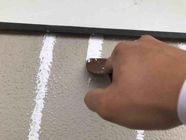 外壁 ひび割れ(クラック)補修 2