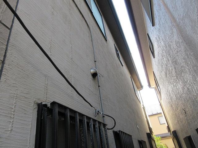 東京都 東村山市 屋根・外壁リフォーム 現地調査 外壁の状態確認