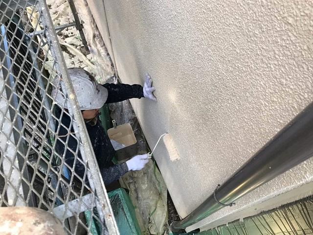 外壁塗装 アクリルシリコン樹脂塗料 上塗り