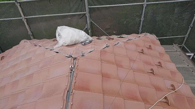 東京都東大和市 屋根葺き替え、外壁塗装工事 屋根材ROOGA 施工4