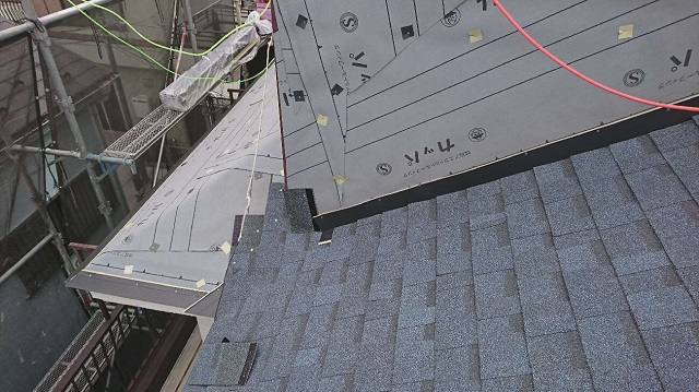 所沢市北野南 屋根カバー、外壁塗装工事 アスファルトシングル オークリッジスーパー