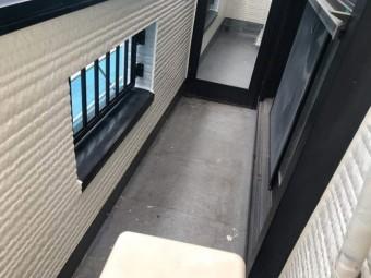 所沢市東所沢 屋根カバー、外壁塗装工事 ベランダ防水工事 (2)